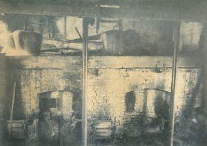 La salle des alambics vers 1910